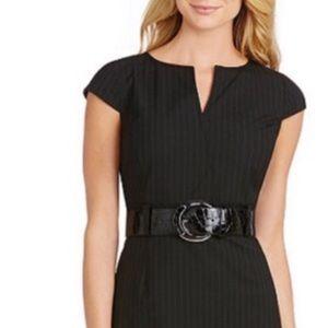 💋Antonio Melani pinstriped dress